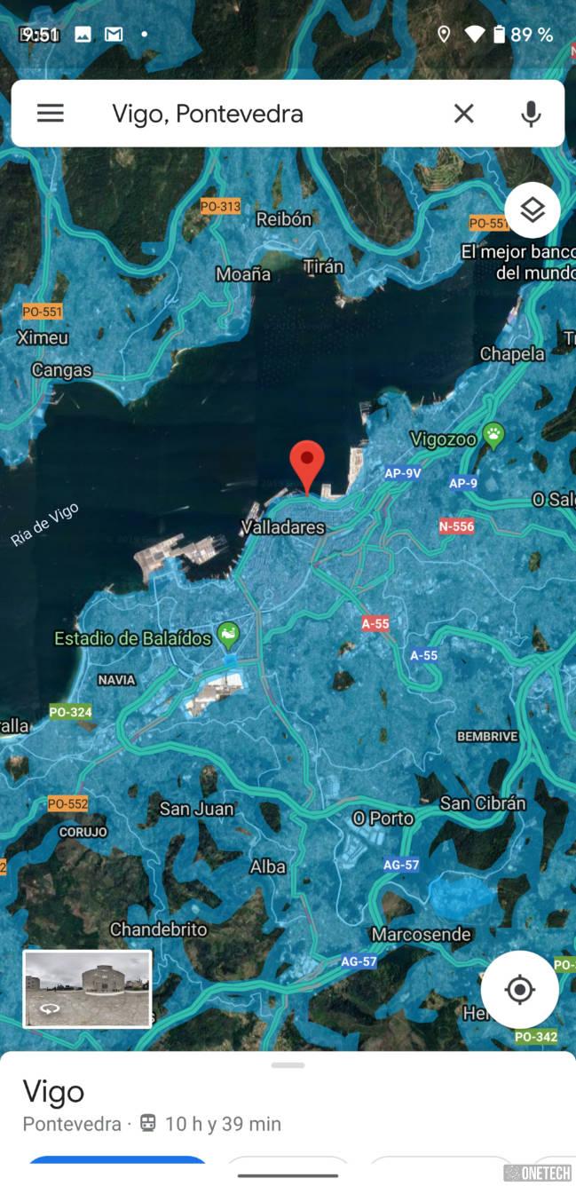 Google Maps añade Street View como nueva capa en Android 2