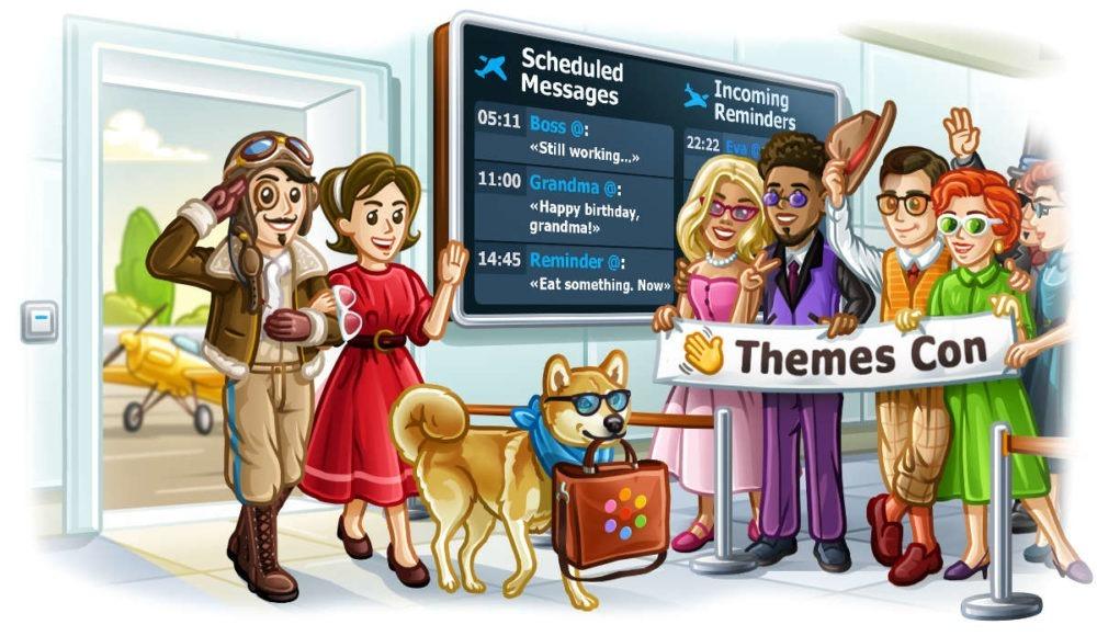 programar mensajes en Telegram