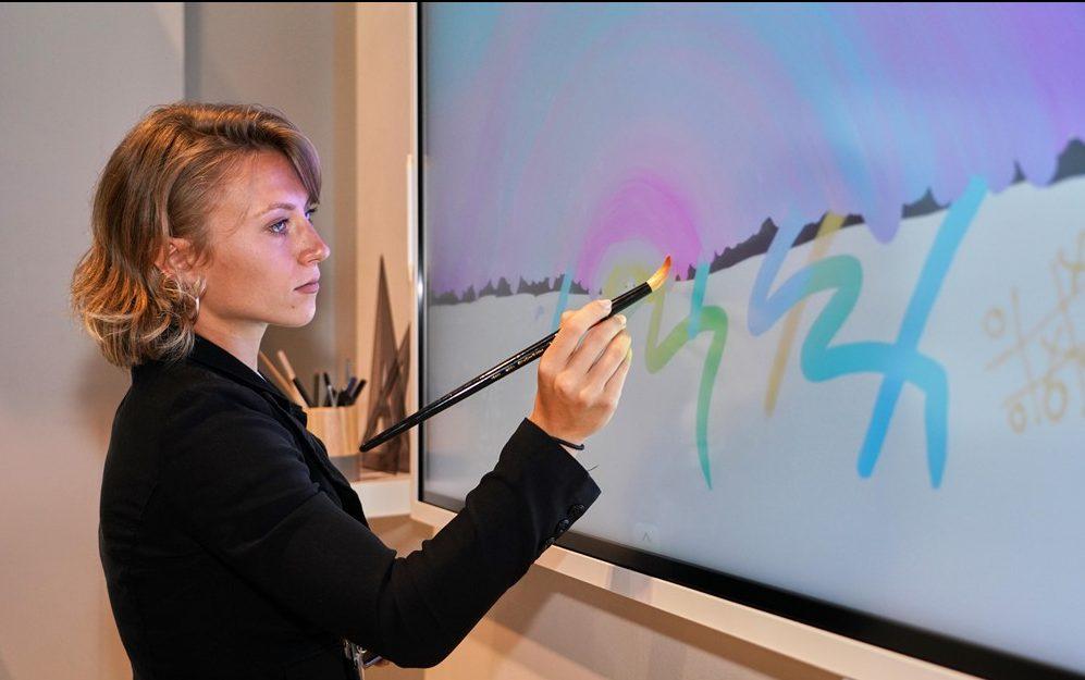 Samsung presenta Flip 2, su nueva pizarra digital inteligente