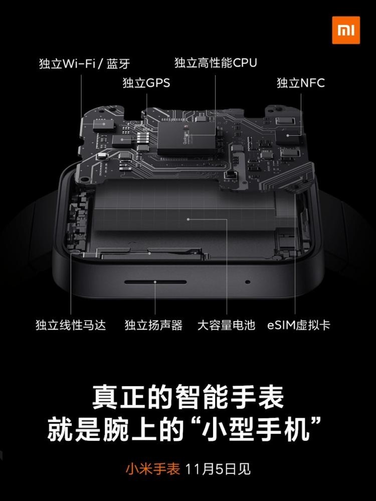 El Xiaomi Mi Watch se va desvelando en imágenes oficiales 7