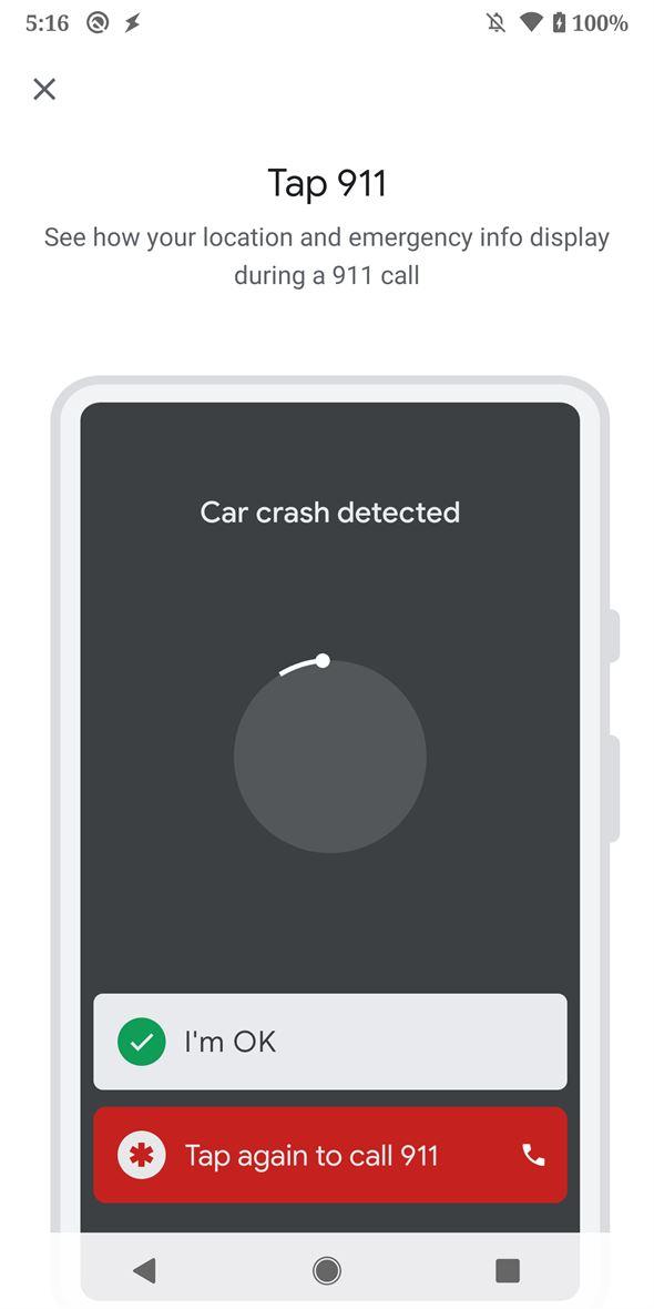 """""""Seguridad Personal"""" la app para los Google Pixel que detecta accidentes, aparece en la tienda 9"""