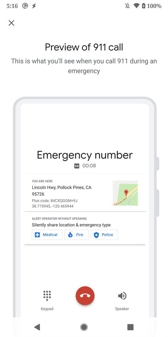 """""""Seguridad Personal"""" la app para los Google Pixel que detecta accidentes, aparece en la tienda 10"""