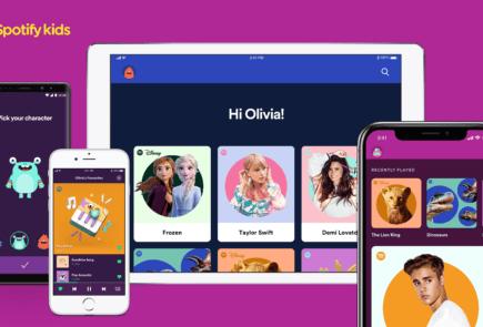 Spotify Kids, una nueva app de música para los más pequeños 2