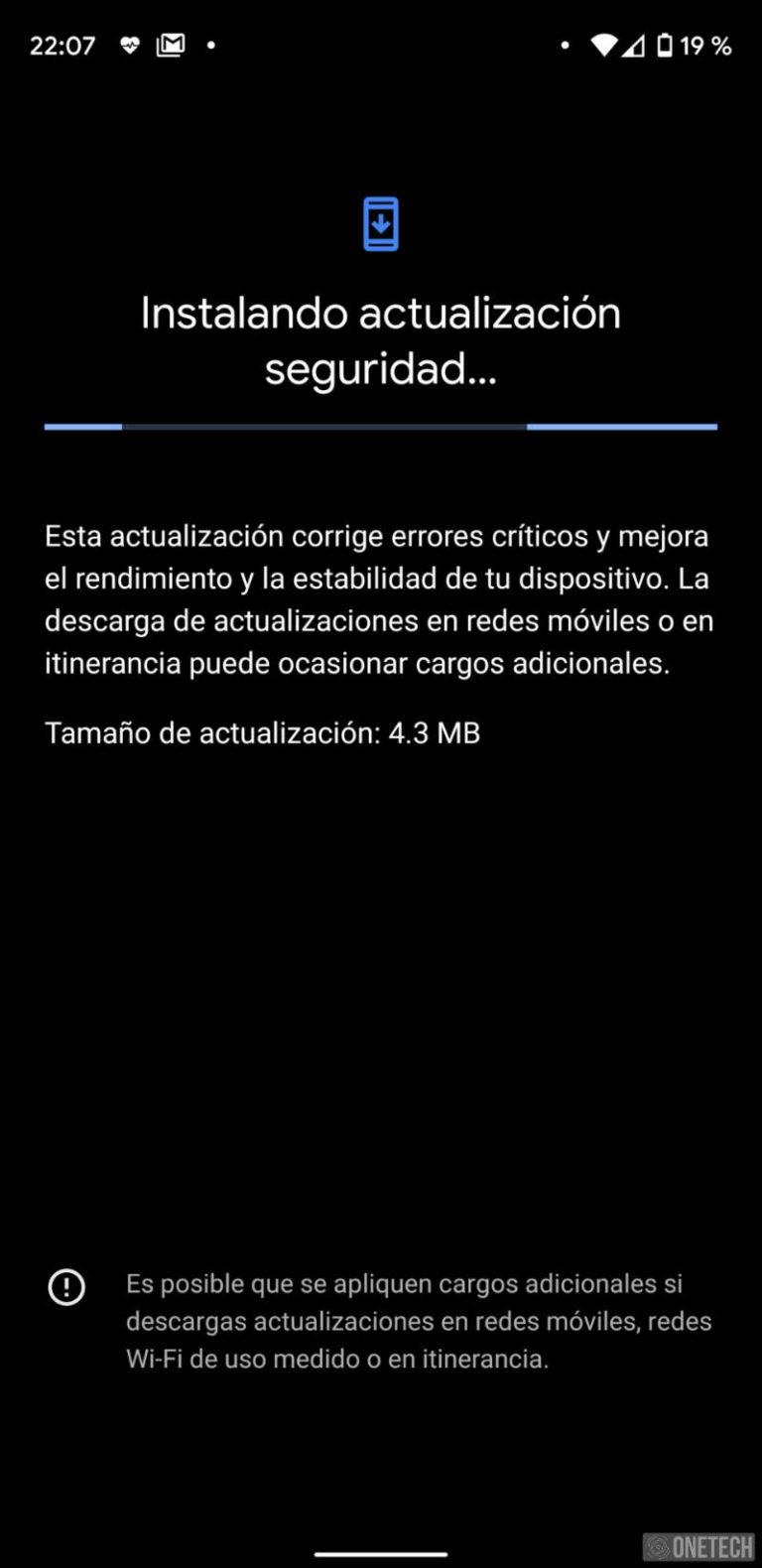 La actualización de Seguridad de Octubre llega a Android