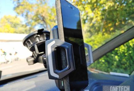 Choetech T521-S un soporte de coche con carga inalambrica 2