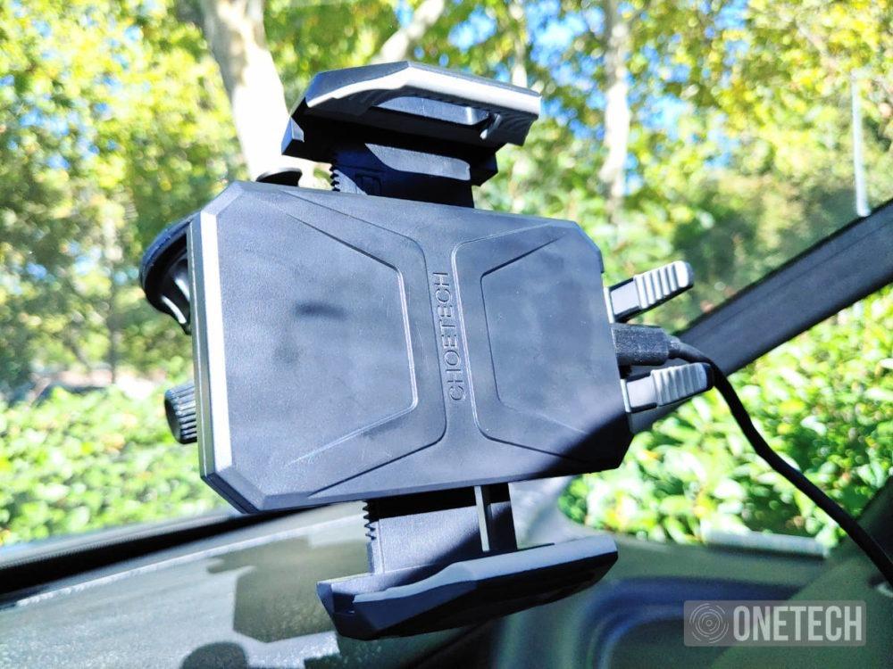 Choetech T521-S un soporte de coche con carga inalambrica 5