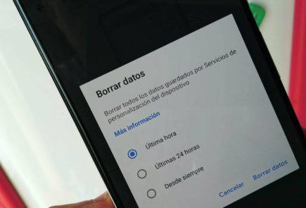 Android 10 mejora su privacidad con borrado de datos del Servicio de Personalización 12