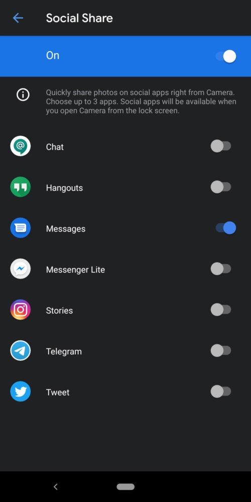 Google Camera 7.1, se filtra su APK y muestra nuevas funciones sociales 8