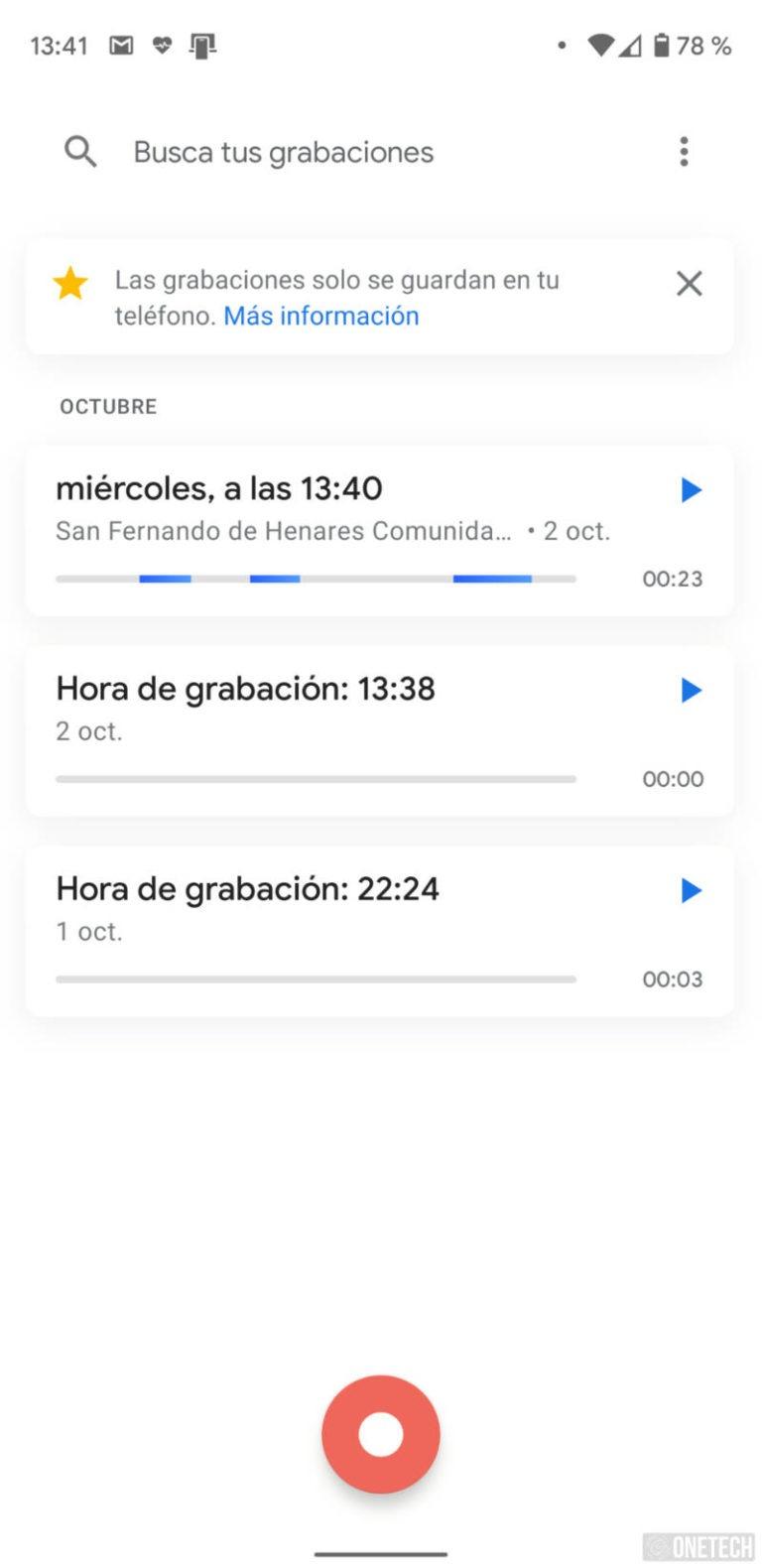 Grabadora de Google ahora cuenta con transcripción y detección de ubicación 4