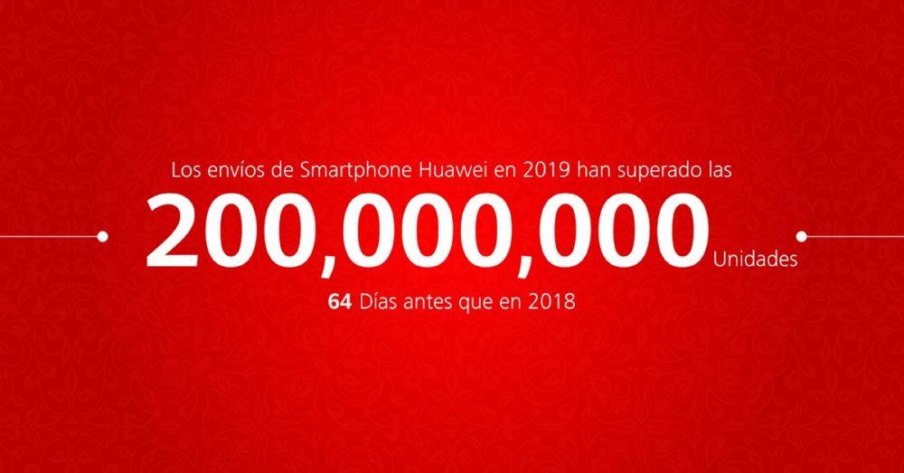 Huawei supera el veto de Trump y presume de cifras