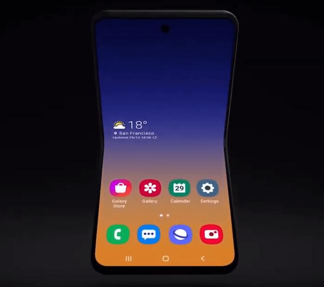 Samsung ya trabaja en otros formatos de Smartphones plegables y nos da una muestra