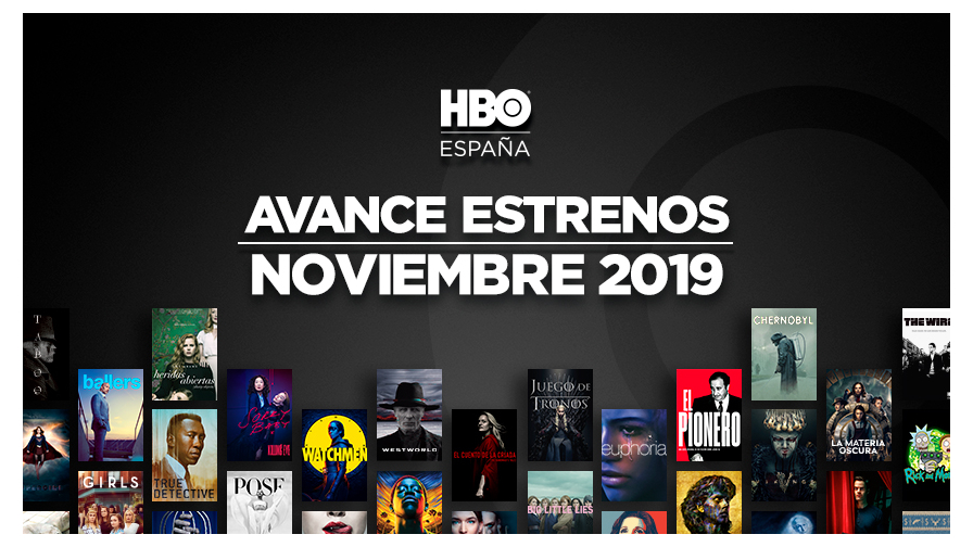 Estrenos de HBO para Noviembre 1