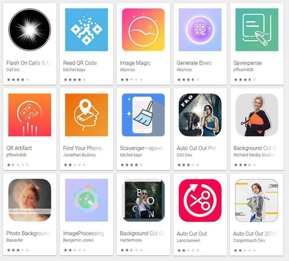 Ten cuidado con estas aplicaciones de la Google Play Store 1