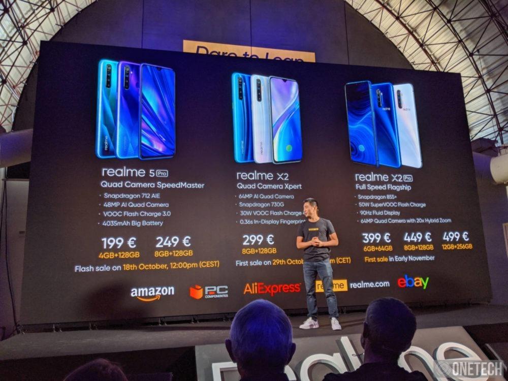 Realme aterriza en España: precios y disponibilidad de sus móviles 1