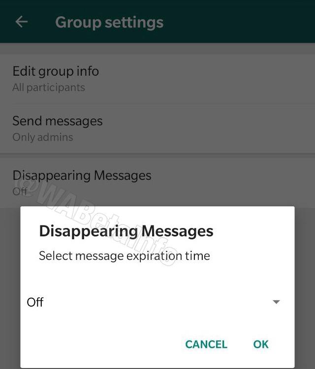 WhatsApp trabaja en una nueva función, los