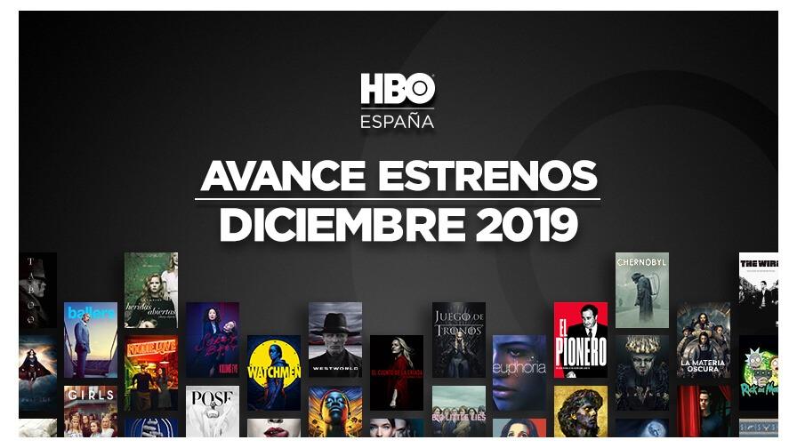 Ya tenemos los estrenos de HBO para Diciembre 1