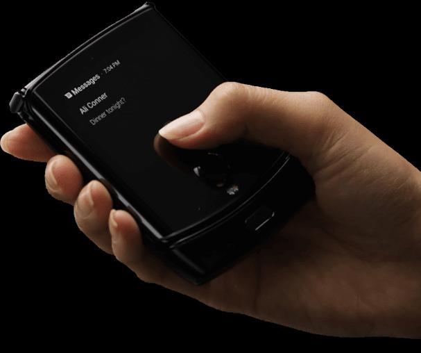 El Motorola RAZR con pantalla plegable, se filtra en imágenes 1