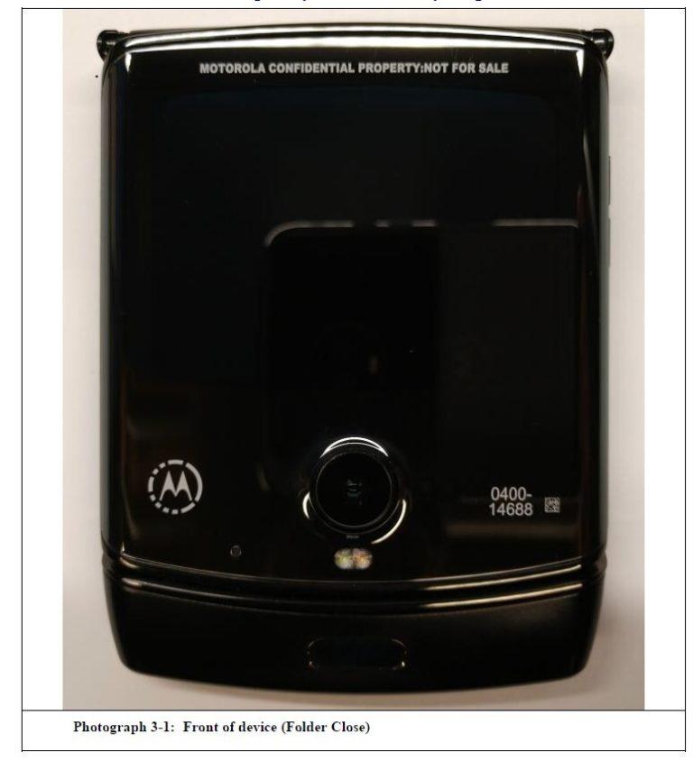 El Motorola Razr 2019 se muestra en sus primeras imágenes reales 4