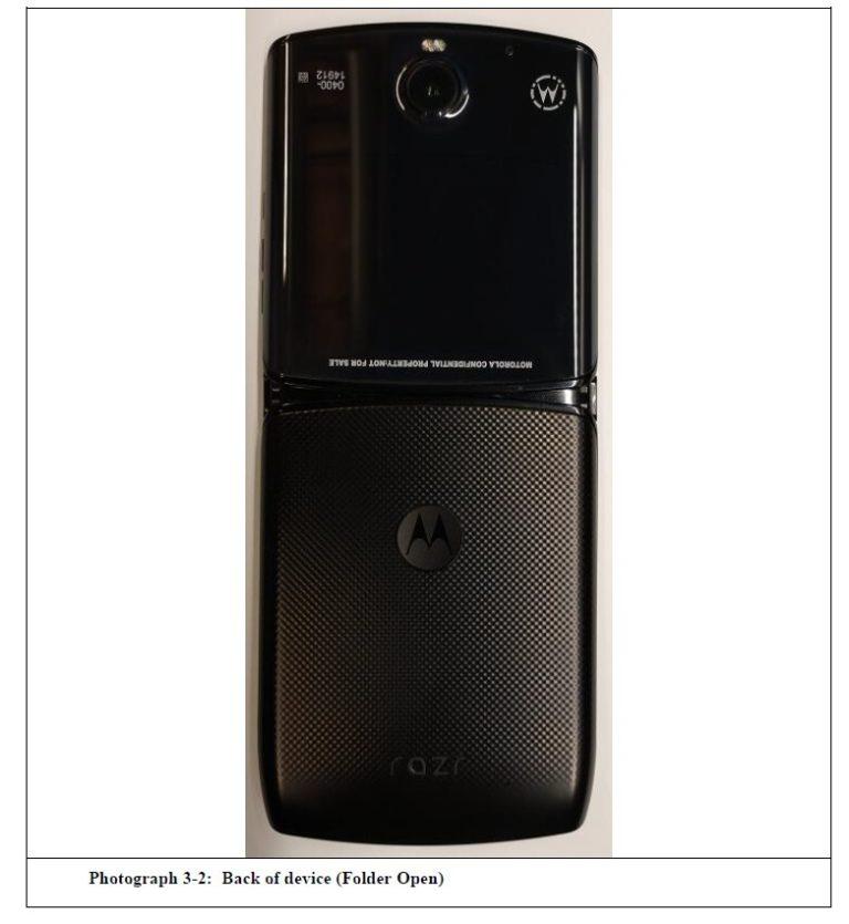 El Motorola Razr 2019 se muestra en sus primeras imágenes reales 3