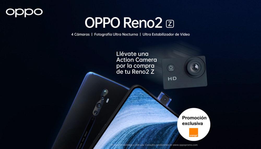 Oppo se alía con Orange para ofrecer el Reno 2Z en España 1