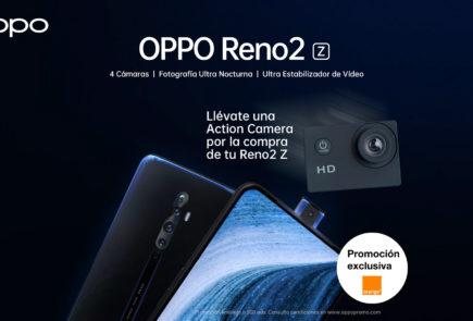 Oppo se alía con Orange para ofrecer el Reno 2Z en España 2