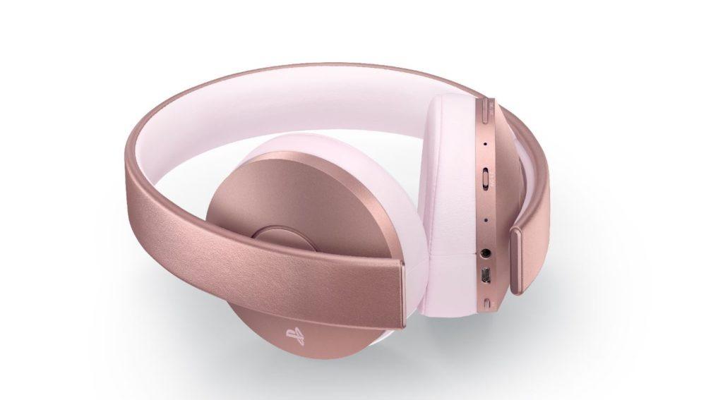 Wireless Headset Gold edición Rose Gold