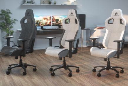 Corsair lanza la T3 RUSH, su nueva silla gamer premiun 5