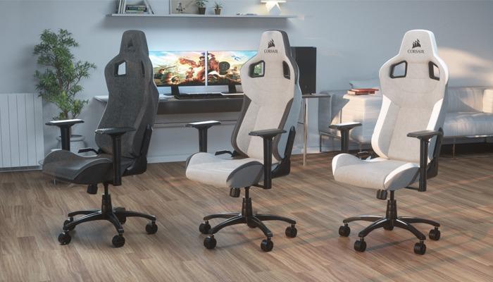 Corsair lanza la T3 RUSH, su nueva silla gamer premiun 1