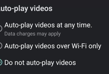 Podremos desactivar la reproducción automática de vídeos en Google Play 2
