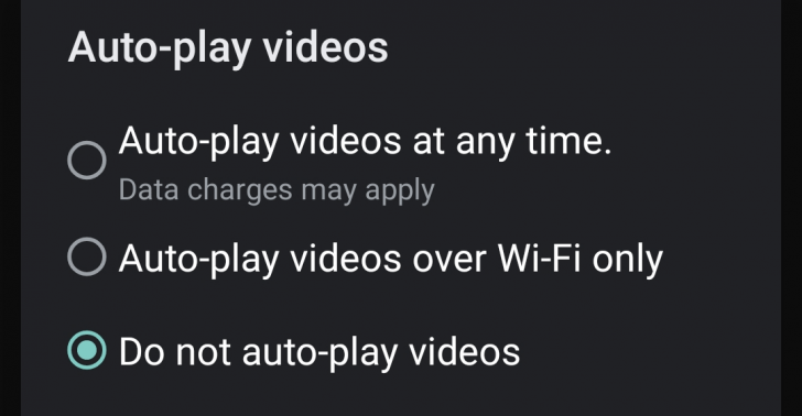 Podremos desactivar la reproducción automática de vídeos en Google Play 1