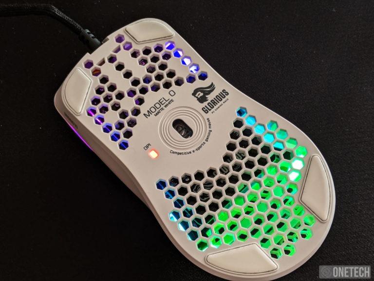 Glorious Model O, un ratón gamer lleno de color y de