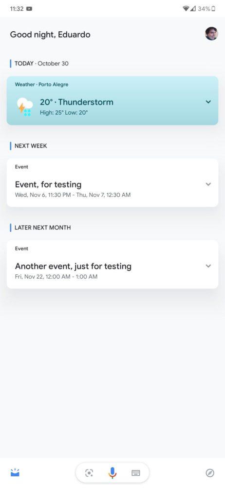 Google Assistant está probando un radical cambio en su diseño 2