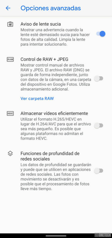 Google Pixel 4, el terminal que se controla sin tocar - Análisis 38
