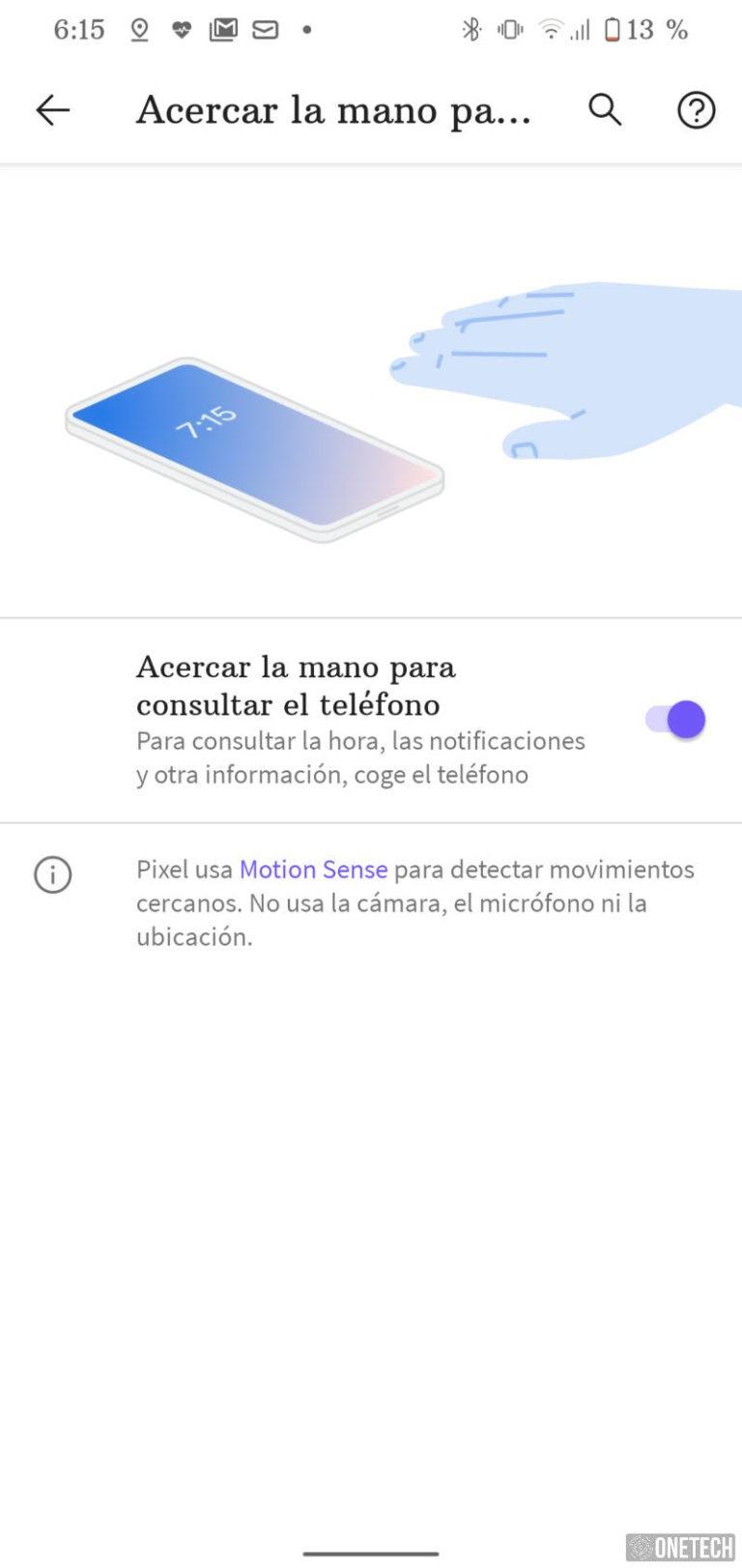 Google Pixel 4, el terminal que se controla sin tocar - Análisis 23