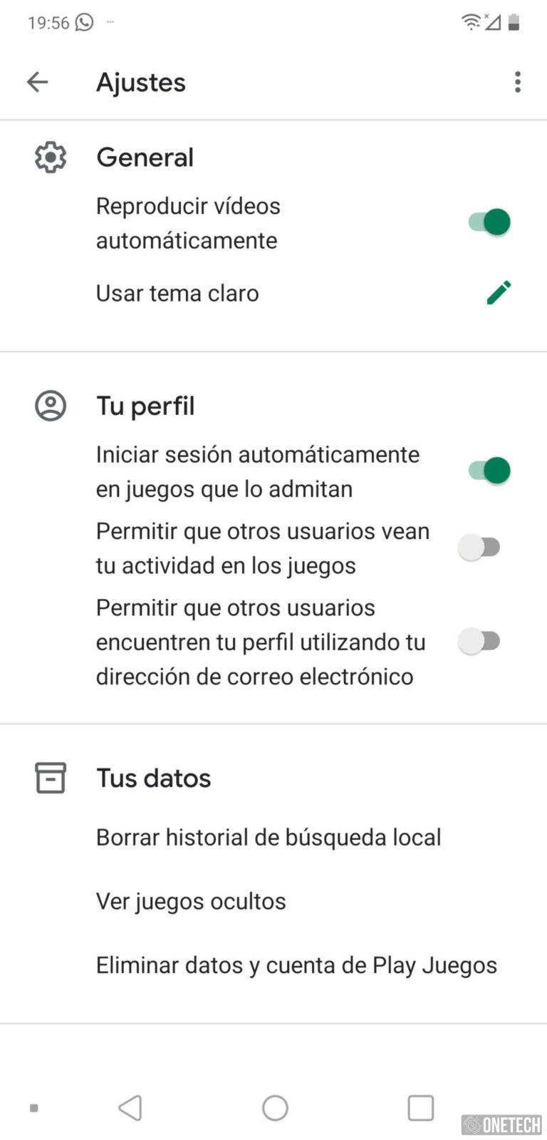 Google Play Juegos estrena un nuevo diseño 4