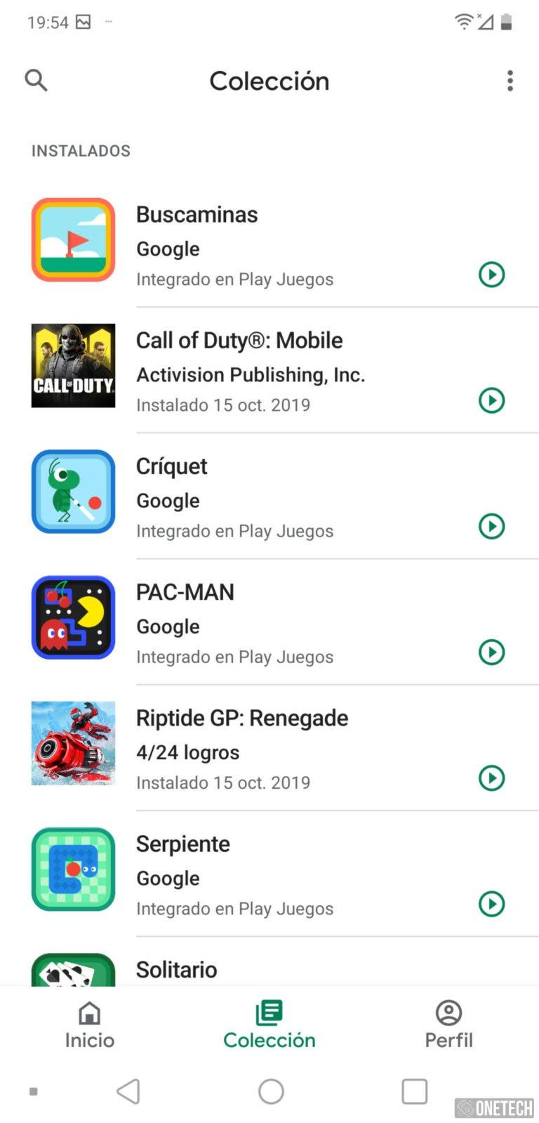Google Play Juegos estrena un nuevo diseño 2