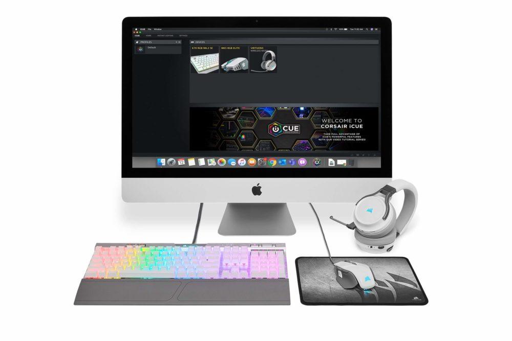 Corsair lanza su sistema iCUE para macOS 1