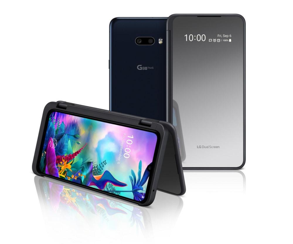 El LG G8X ThinQ se presenta en España con pantalla dual 1