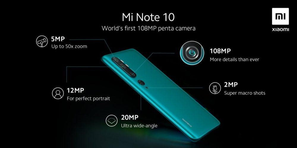 El Xiaomi Mi Note 10 se presentará en 6 de Noviembre, y lo hará en Madrid 2