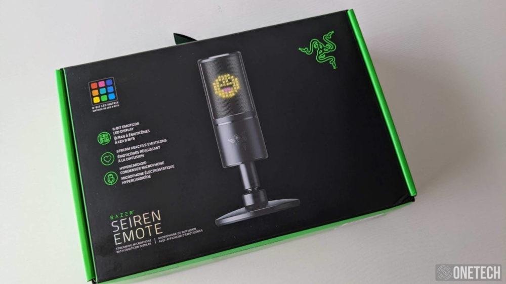 Razer Seiren Emote, un micro para streamers que se sale de la norma 1