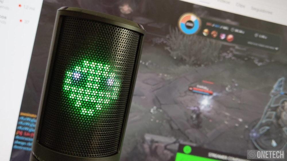Razer Seiren Emote, un micro para streamers que se sale de la norma 9