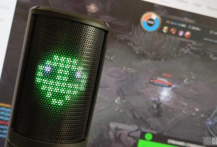 Razer Seiren Emote, un micro para streamers que se sale de la norma 13