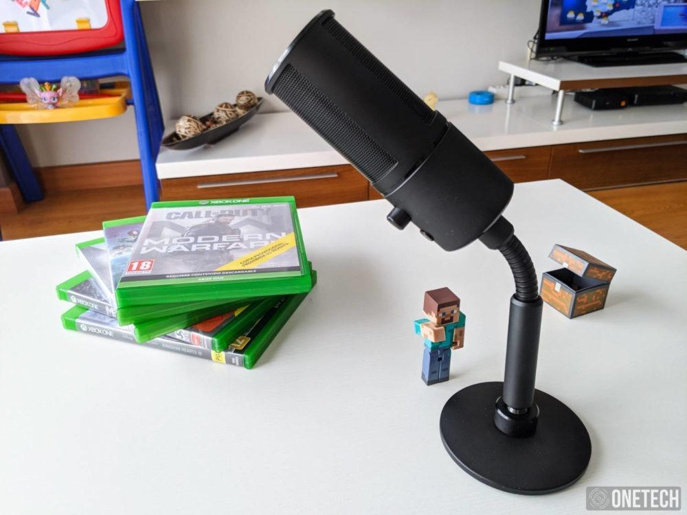 Razer Seiren Emote, un micro para streamers que se sale de la norma 20