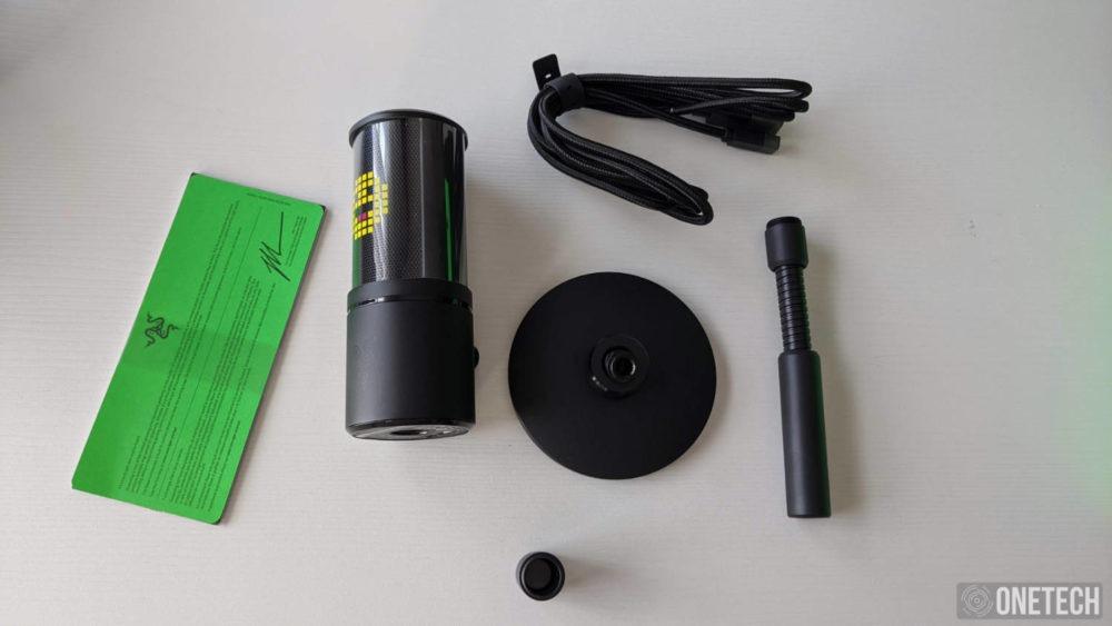 Razer Seiren Emote, un micro para streamers que se sale de la norma 3