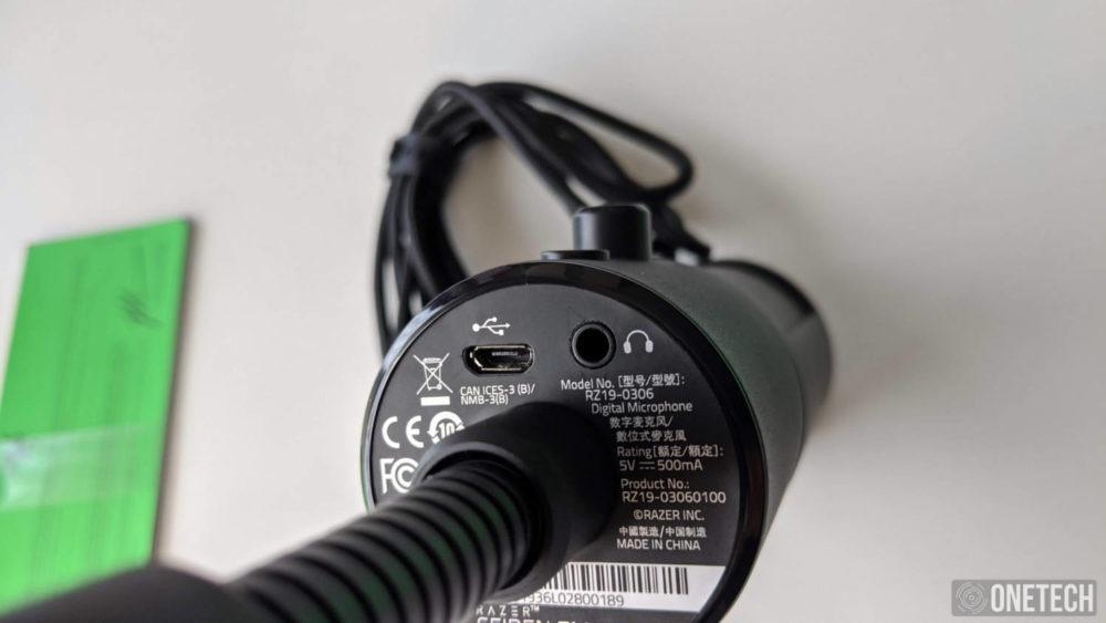 Razer Seiren Emote, un micro para streamers que se sale de la norma 4