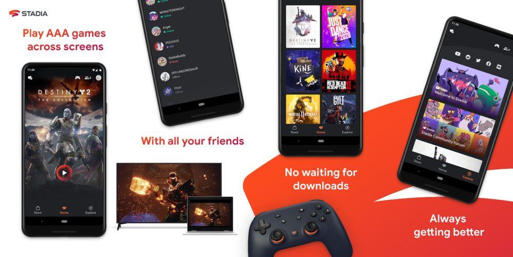 La App de Stadia ya está disponible en la Google Play Store 1