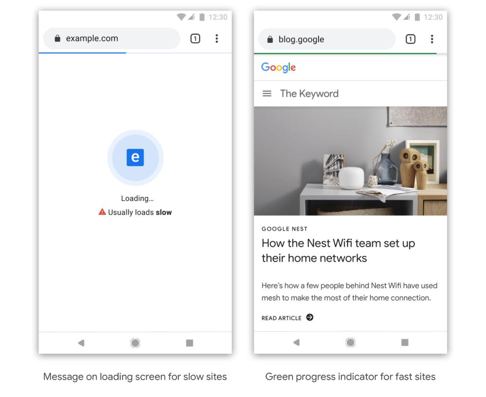 Chrome te dirá que webs son lentas en cargar 1