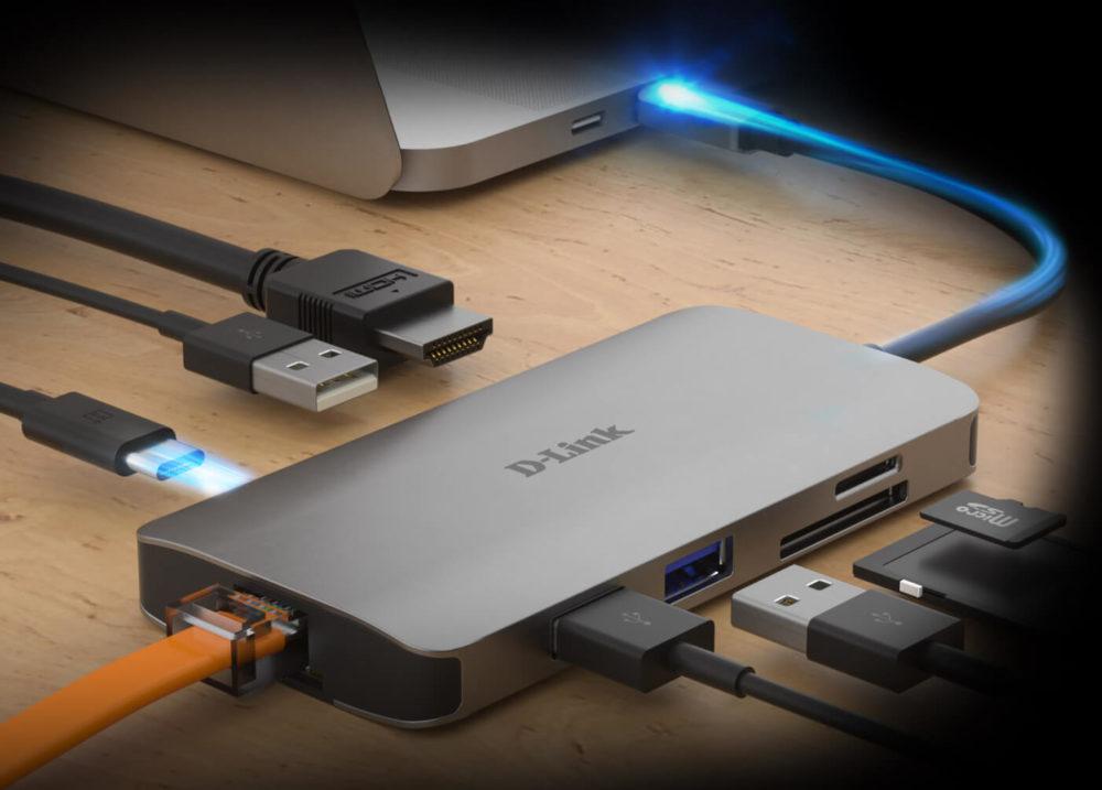D-Link lanza una nueva colección de Hubs USB-C 1