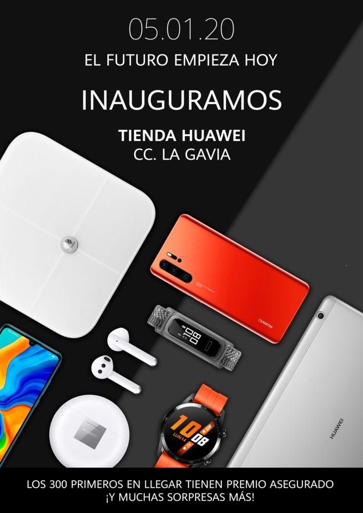 Nueva Tienda Huawei en Madrid, ahora en La Gavia