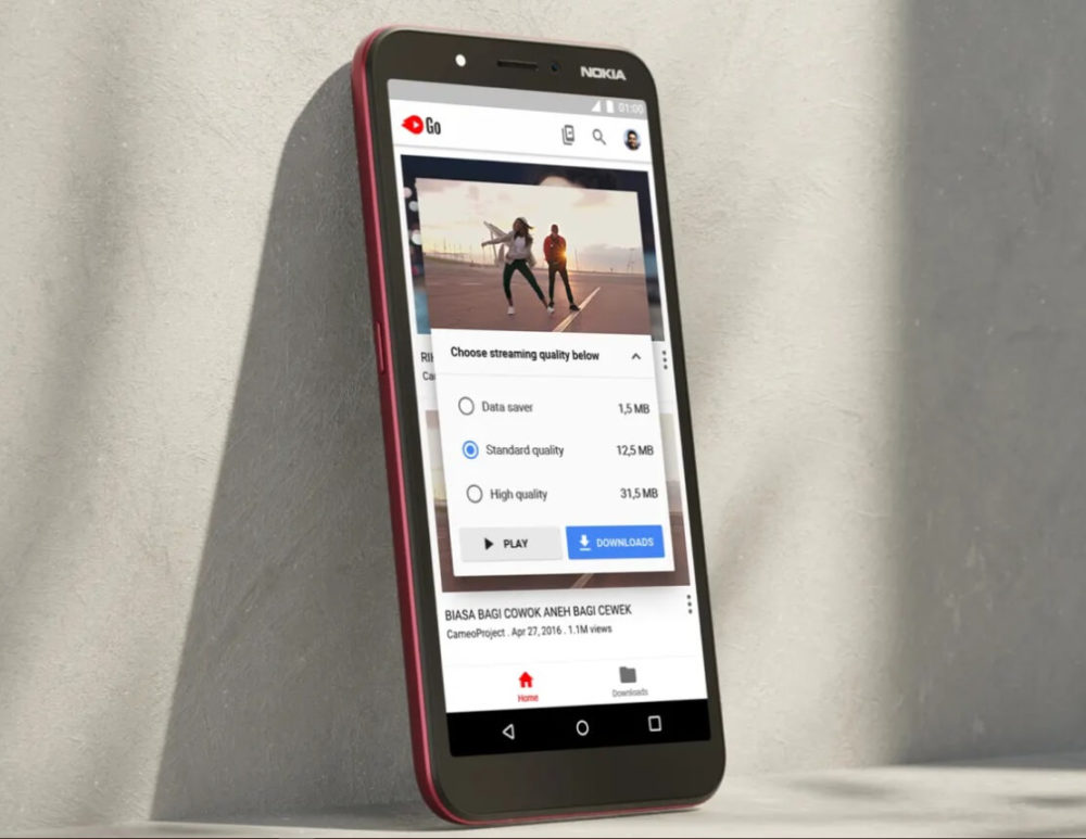 El Nokia C1 vuelve subiendo de nivel con Android Go 1